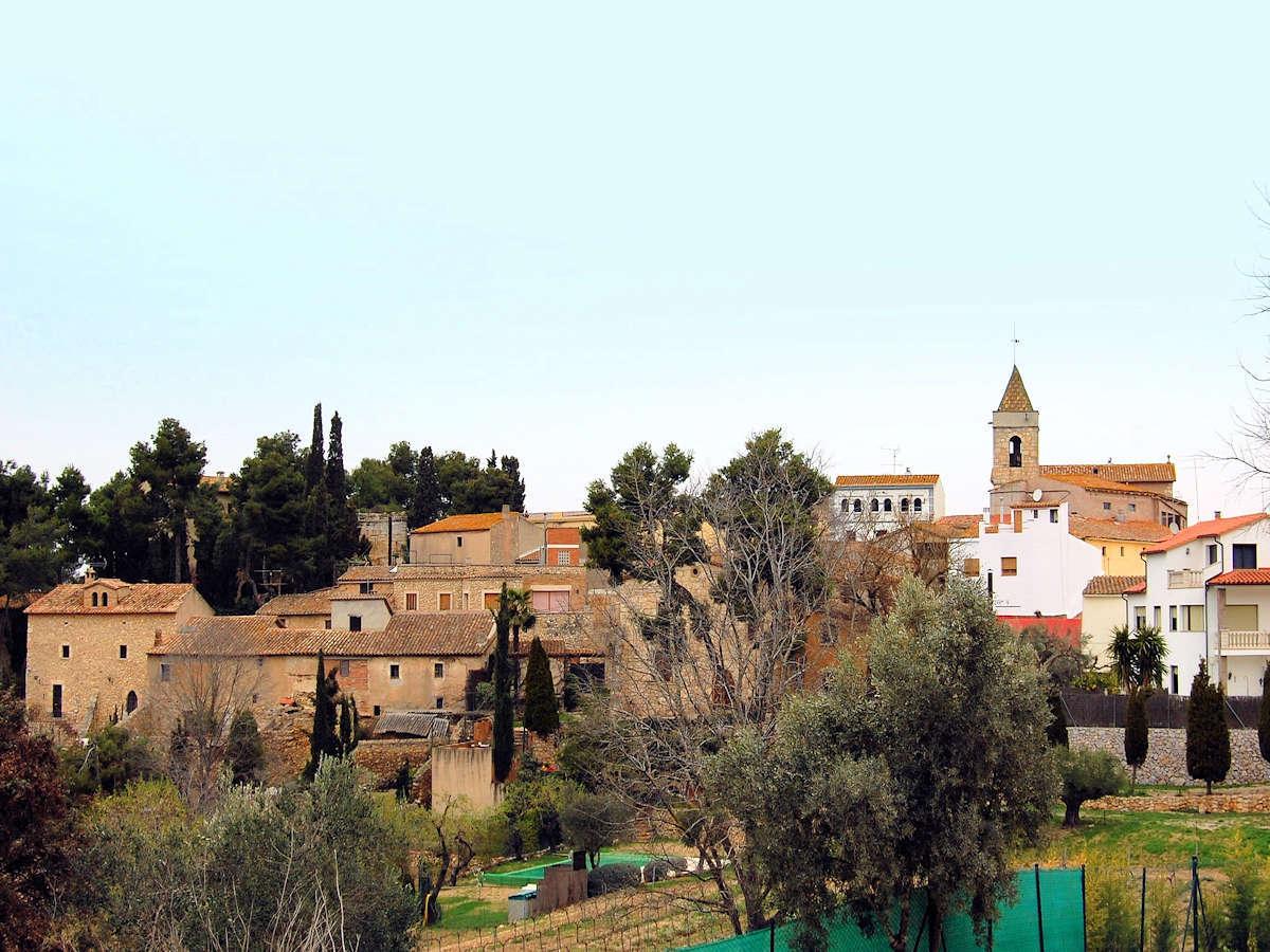 LES GUNYOLES-Pueblo de Barcelona