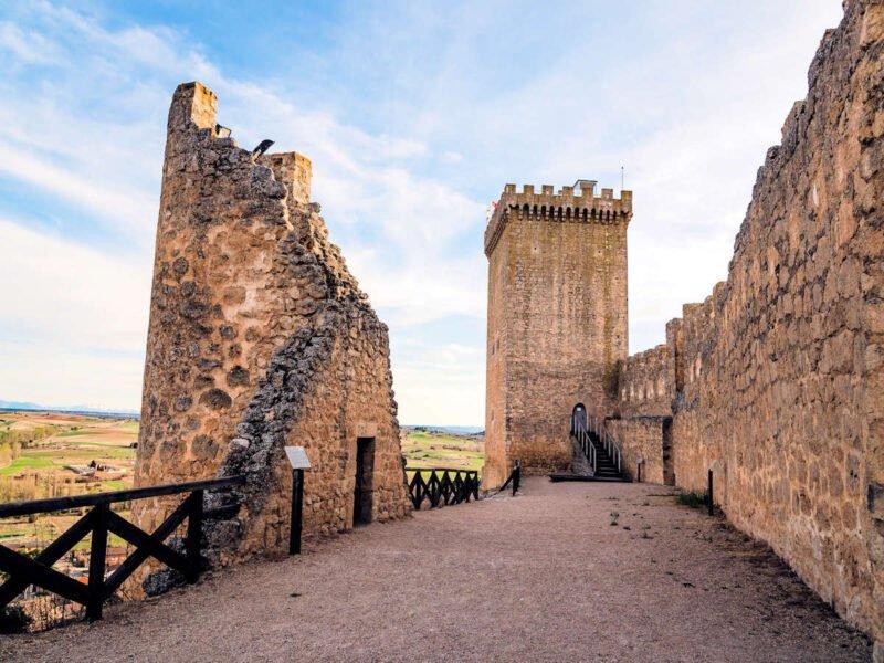 Vistas del Castillo de Peñaranda de Duero