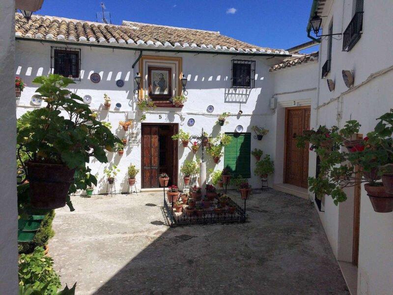 Barrio de la Villa en Priego de Córdoba