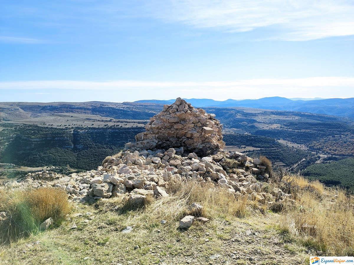 Cima del castillo de Ares del Maestrat