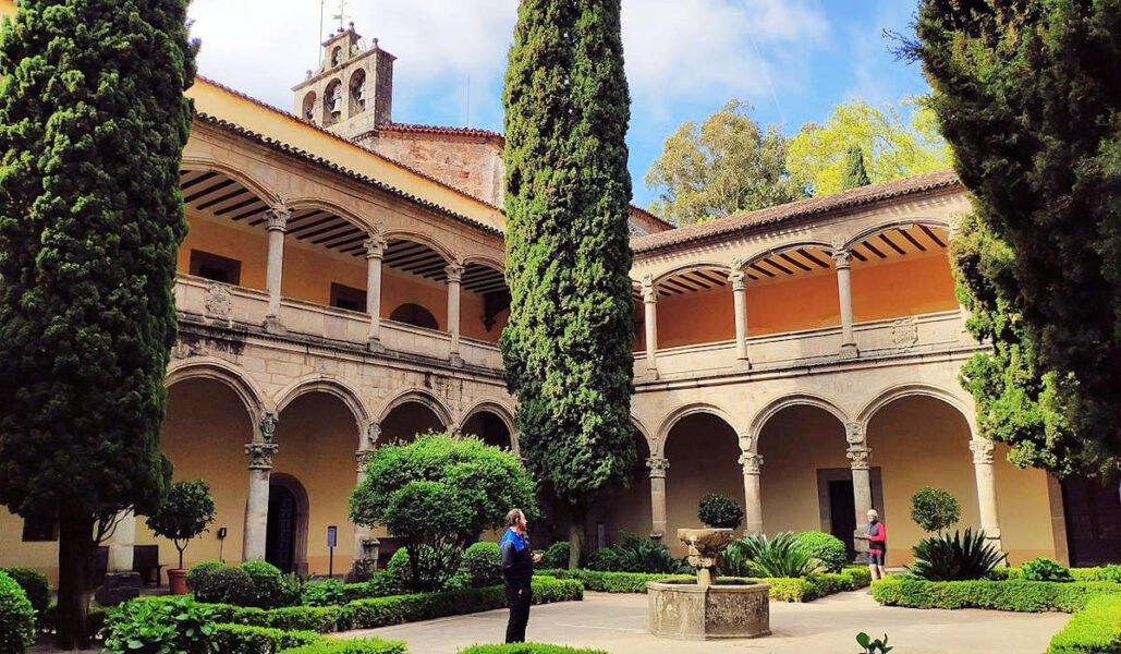 Claustro Renacentista del Monasterio de Yuste