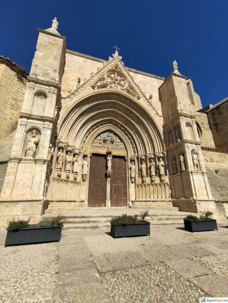 Fachada de la Iglesia Santa María la Mayor - Morella