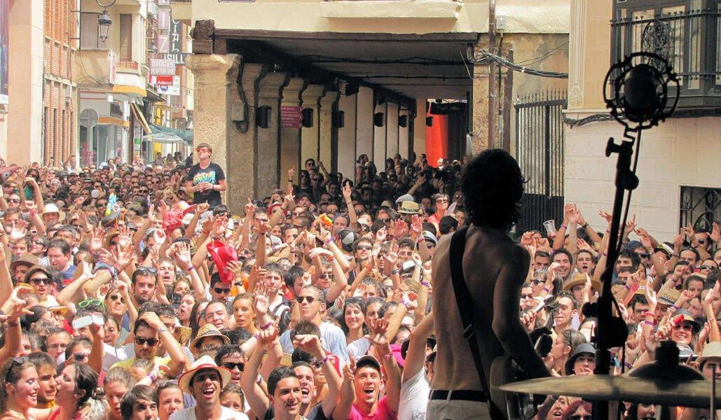 Festival en Aranda de Duero