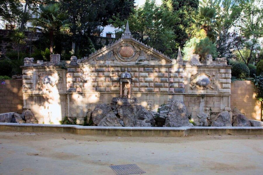 Fuente de la salud en Priego de Córdoba