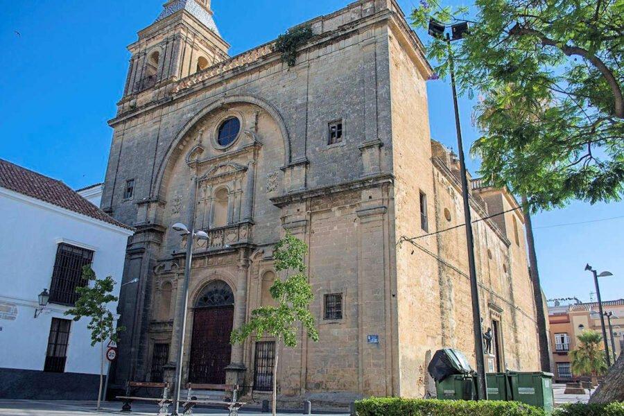 Iglesia de San Francisco en Sanlúcar de Barrameda