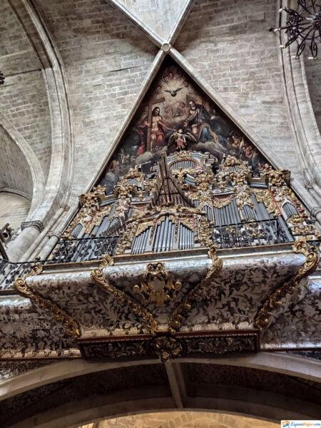 Interior Iglesia Santa María la Mayor - Morella