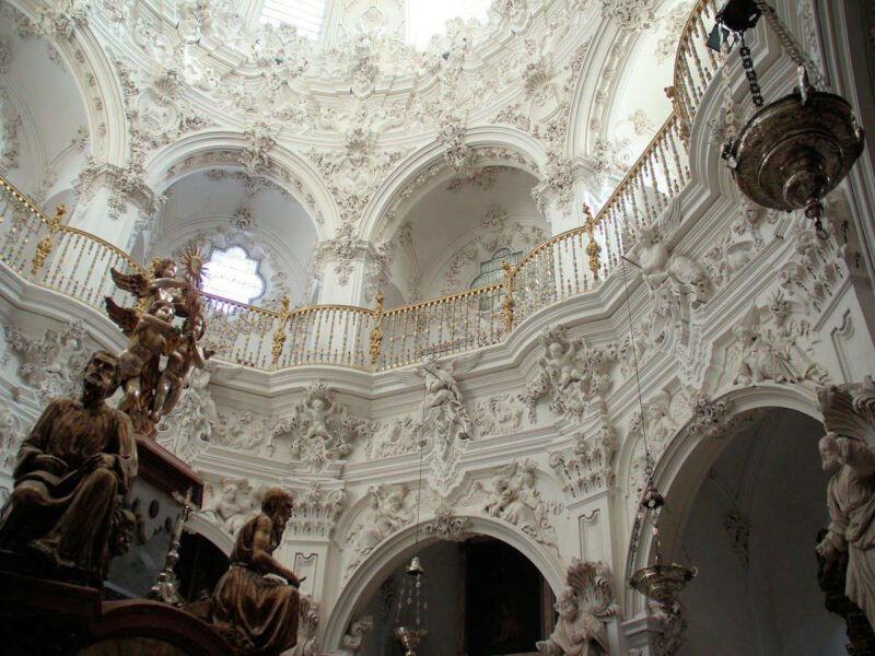 Interior de Iglesia de Nuestra Señora de la Asunción
