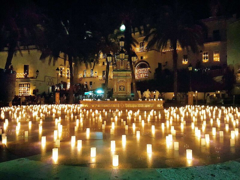 Noche de las velas en Vejer de la Frontera
