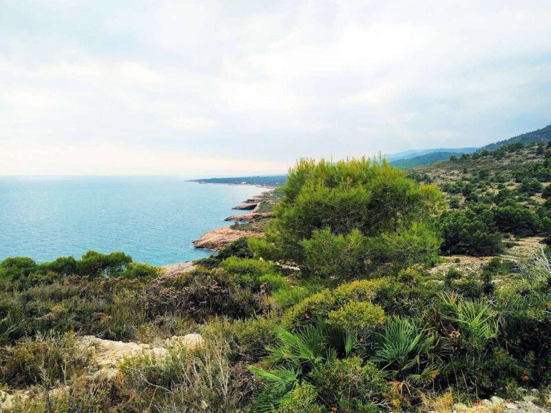 Parque Natural Sierra de Irta en Castellón