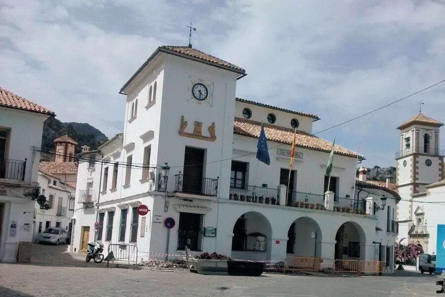 Plaza de España de Grazalema