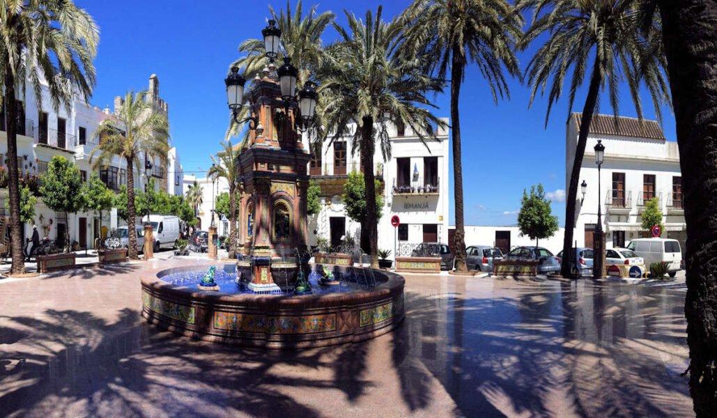 Plaza de España de Vejer de la Frontera