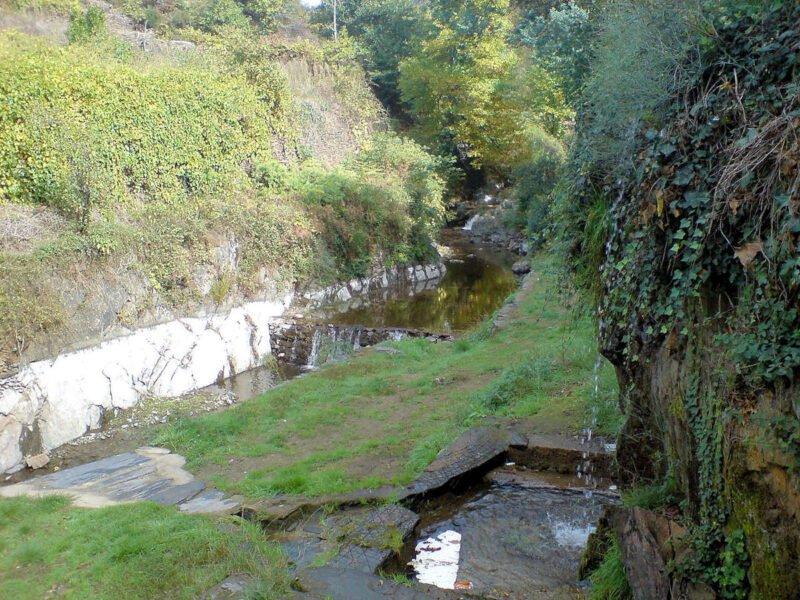 Río Arrago en Robledillo de Gata