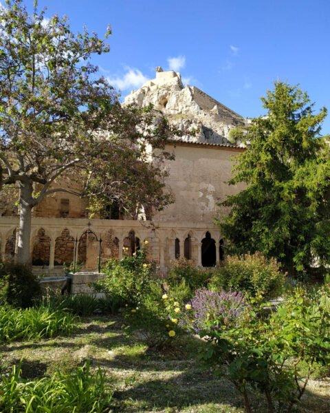 Vista interna del Castillo de Morella