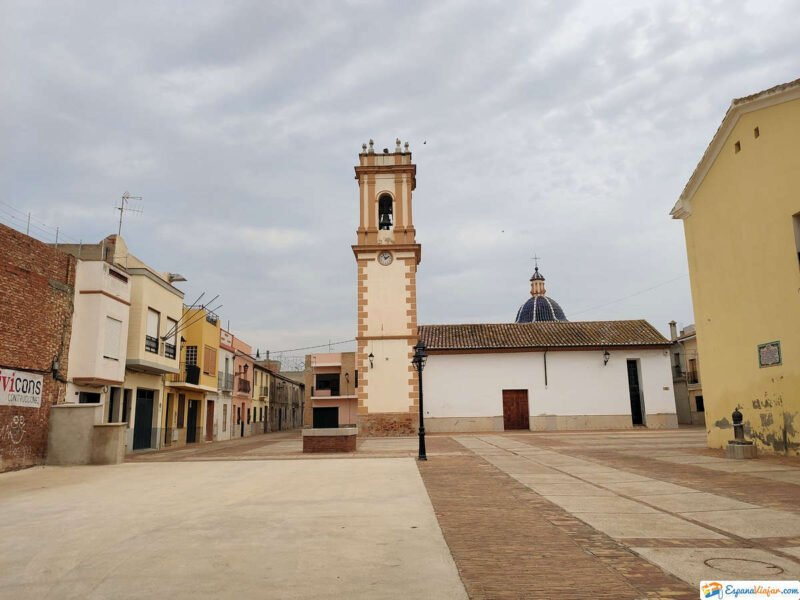 Vistas de la Iglesia de Mascarell