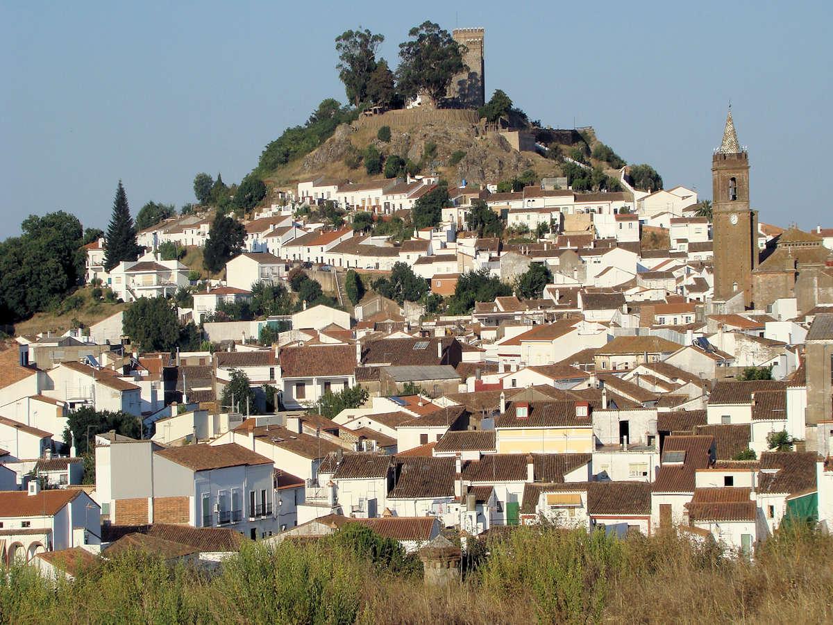 CORTEGANA-Pueblo de Huelva