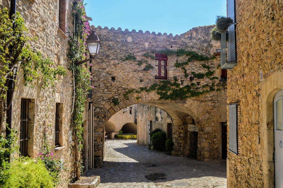 Calles medievales de Peratallada