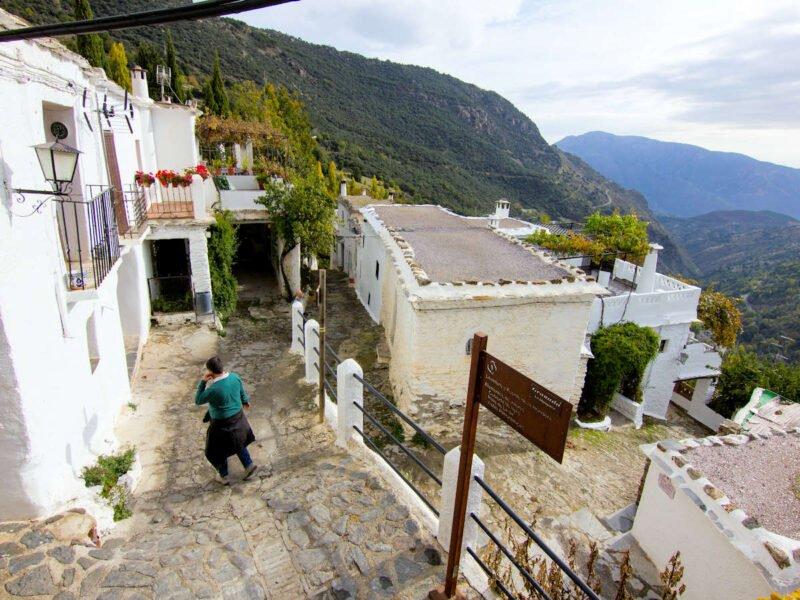 Calles y casas de Bubión