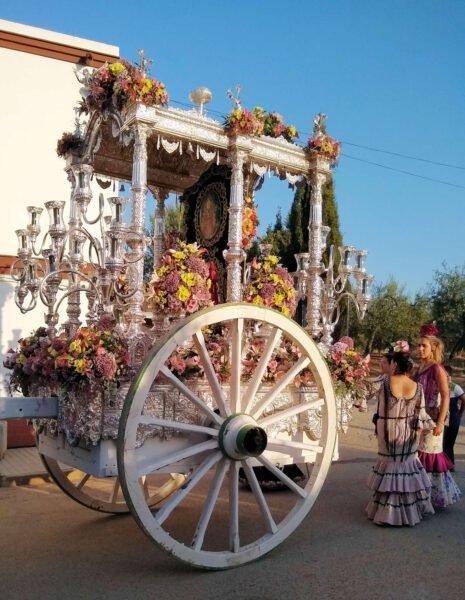 Festividades en El Rocío y Almonte