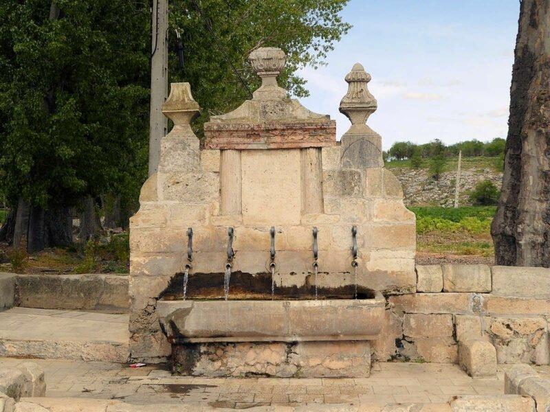 Fuente de los cinco caños en Uclés