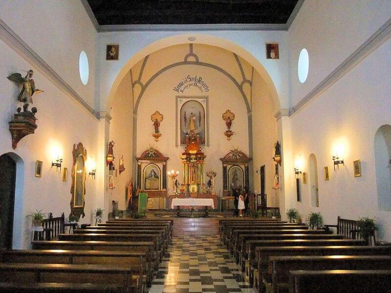 Iglesia de la Virgen del Rosario de Bubión