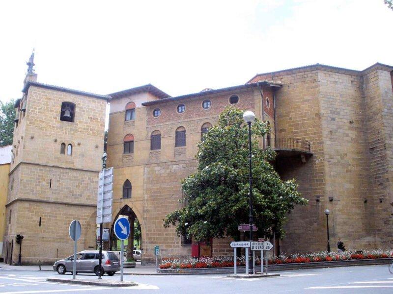 Iglesia de Santa María la Real en Zarautz