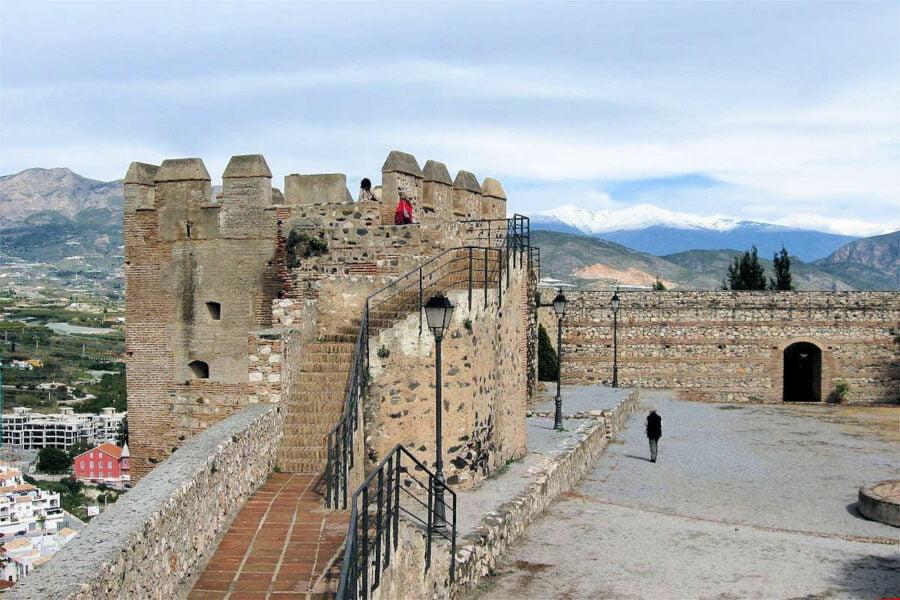 Interior Castillo de Salobreña