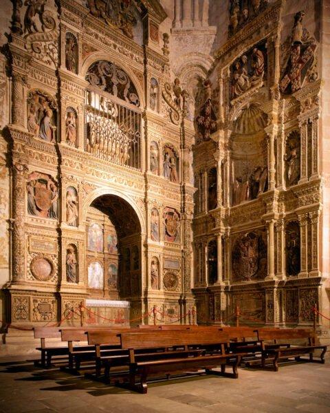 Interior Catedral de Sigüenza