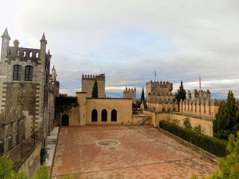 Interior del Castillo de Almodóvar del Río
