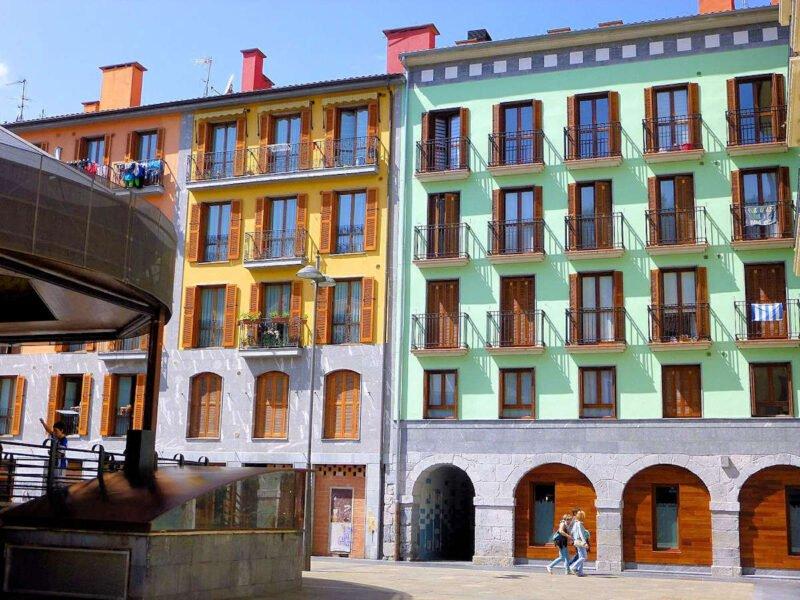 Plaza Berria en Tolosa