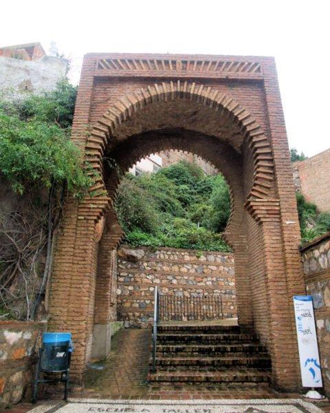 Puerta árabe de Salobreña