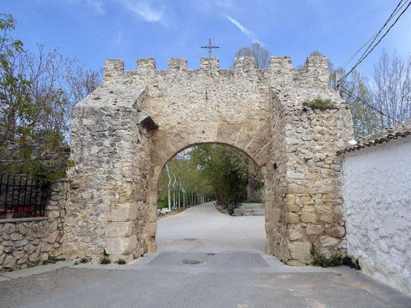 Puerta de Agua en Uclés