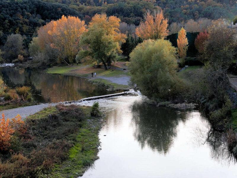 Río Onyar en Besalú
