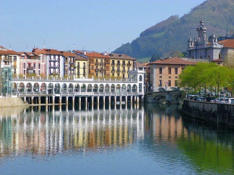Río Oria en Tolosa