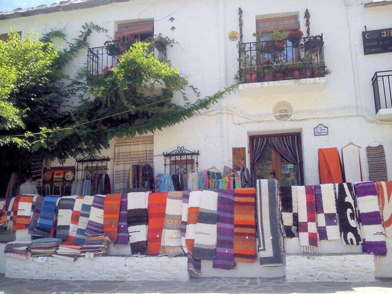 Talleres artesanales de Pampaneira