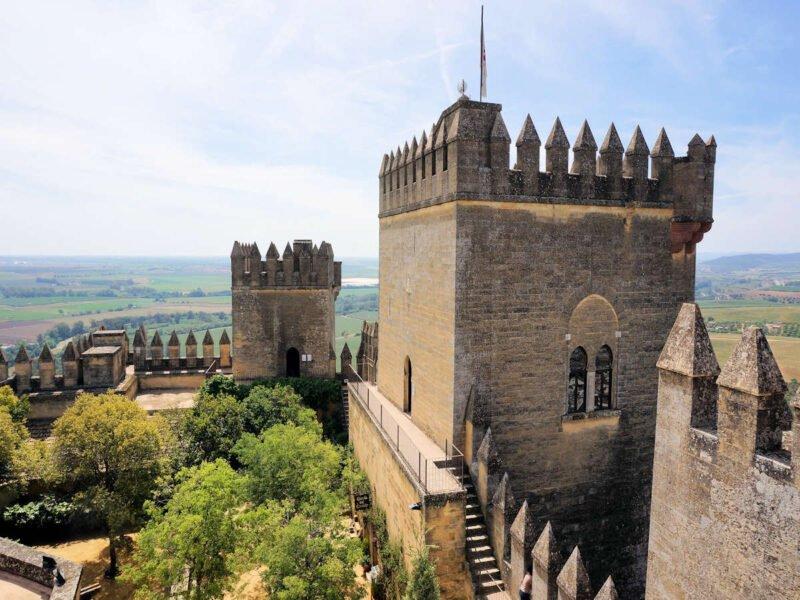 Vistas de Almodóvar del Río desde el Castillo
