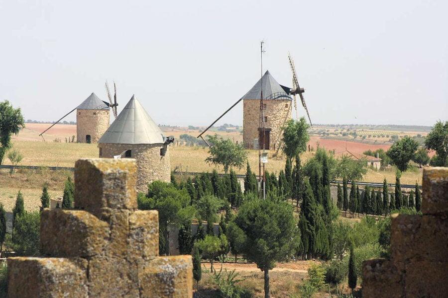 Vistas de Belmonte desde el Castillo