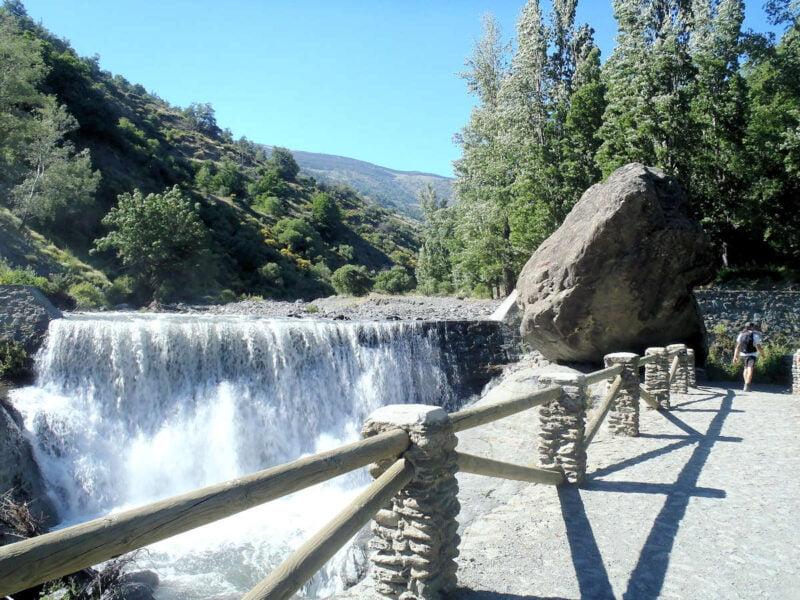 Zona de la Alpujarra en Bubión