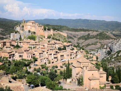 ALQUÉZAR-Pueblo de Huesca