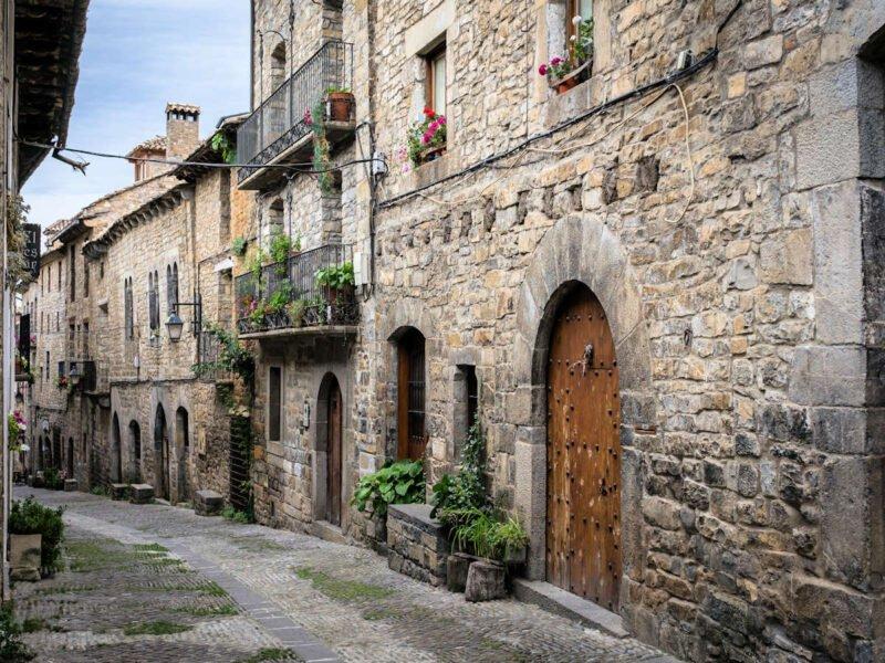 Aínsa un pueblo medieval de Huesca