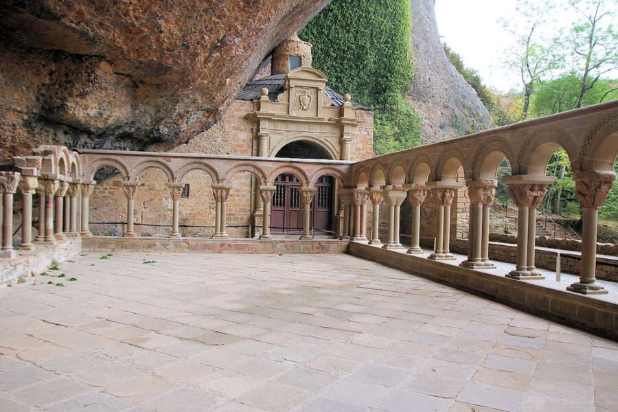 Claustro del Monasterio de San Juan de la Peña