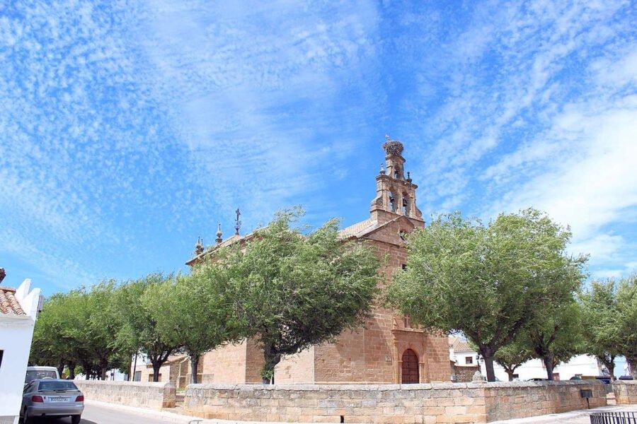 Ermita de Jesús del Llano en Baños de la Encina