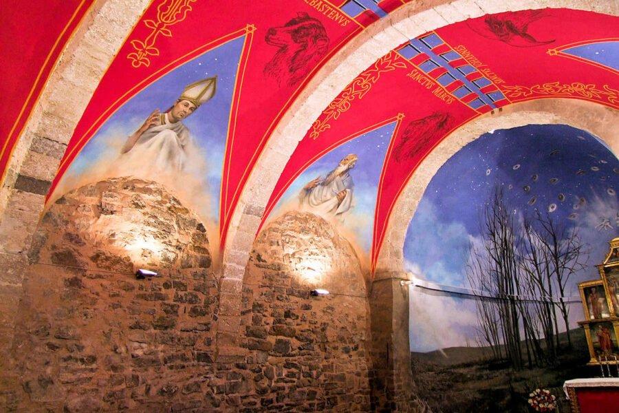 Ermita de San Blas en Cornago