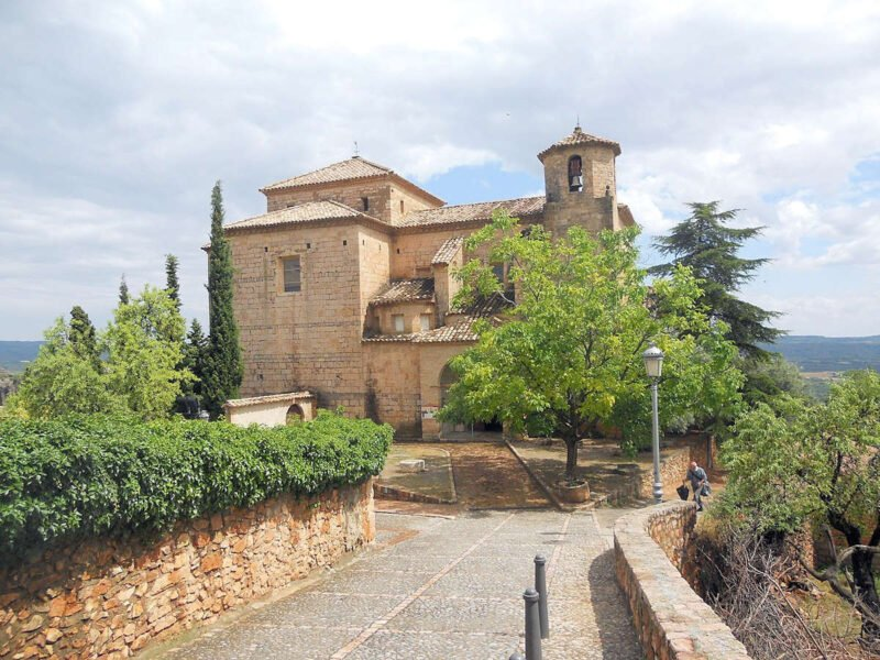 Iglesia de San Miguel Arcángel en Alquézar
