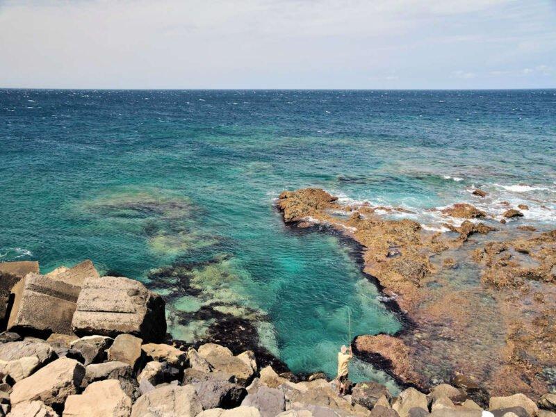 Playas del Muelle en Agaete