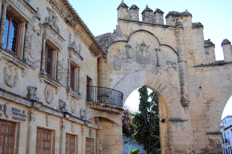 Puerta de Jaén en Baeza