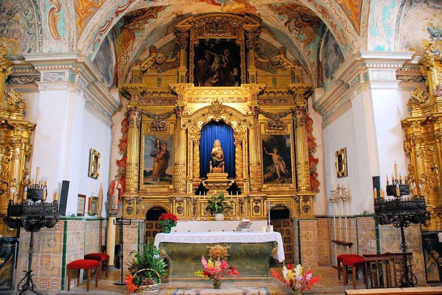 Retablo de la ermita de Allende