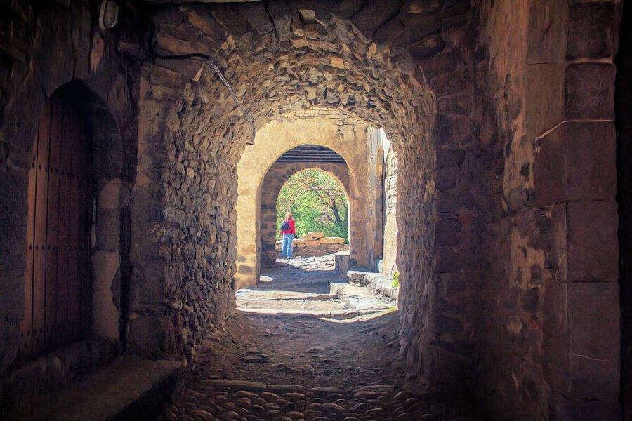 Túnel en Montañana