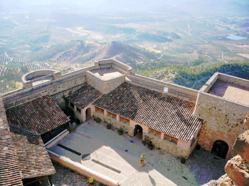 interior del Castillo de Segura de la Sierra