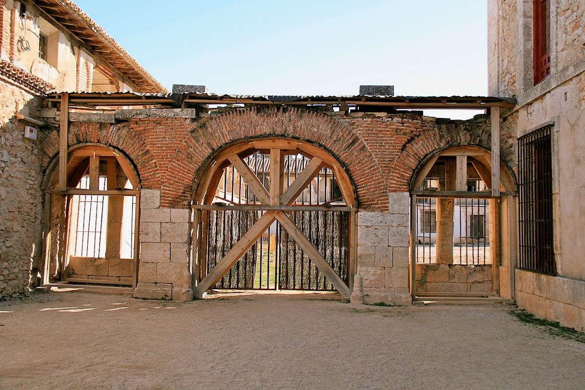 Fábrica de Paños-Plaza-del-Mercado-Nuevo-Baztán