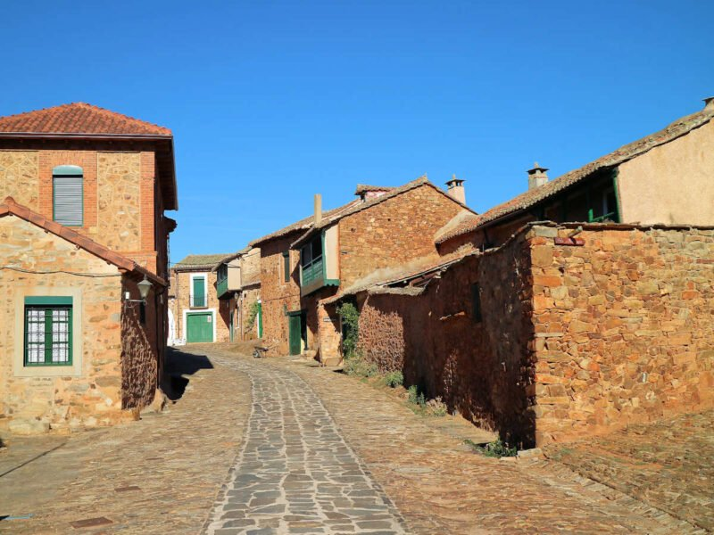 Calles empedradas de Castrillo de Polvazares